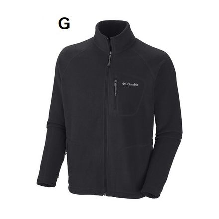 jaqueta-fleece-masc-preto-fast-trek-ii-full-zip-am3039-columbia-Pesca.com.br-G