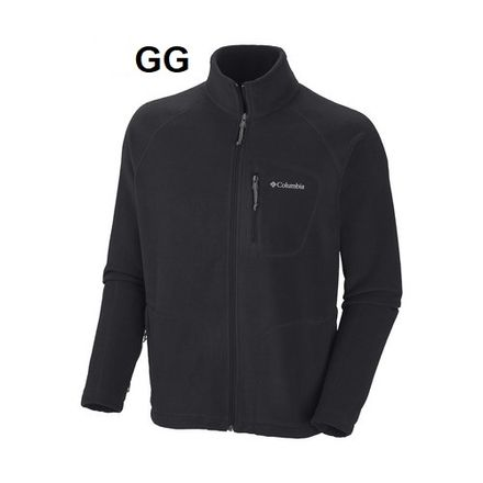jaqueta-fleece-masc-preto-fast-trek-ii-full-zip-am3039-columbia-Pesca.com.br-GG